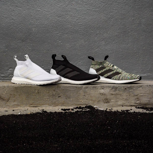 100% authentic 43cef 6c0d6 adidas Football Launch ACE 16+ UltraBOOST Trio