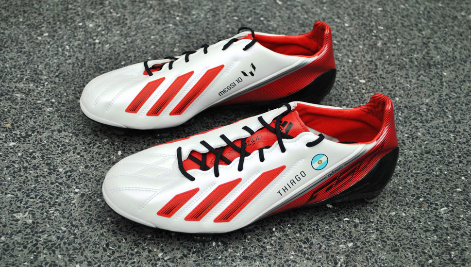 Our Top 10 Messi F50 adizero Boots - SoccerBible. 1aeb7aba892f3