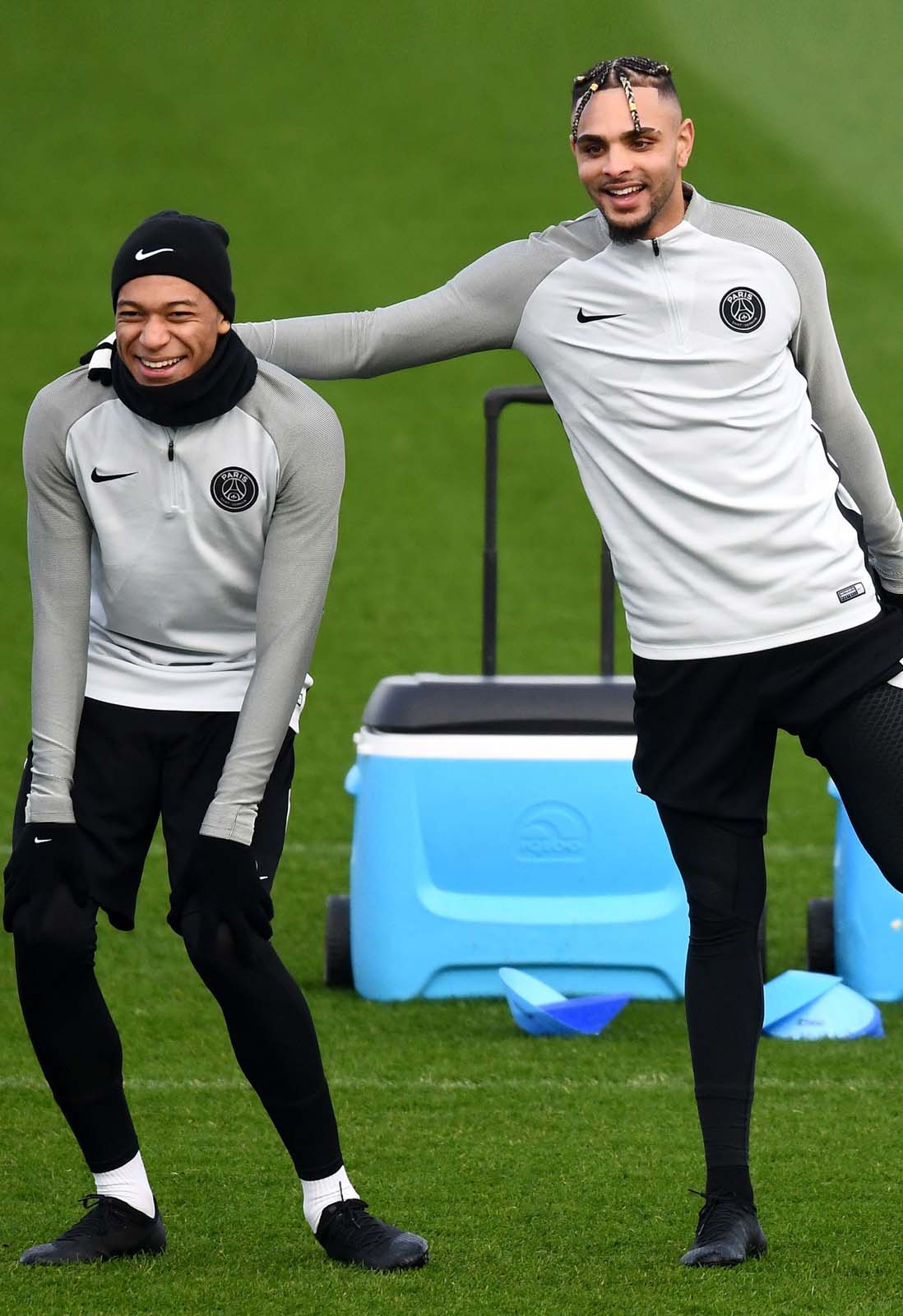 b1f19b1b063 kylian mbappe trains in blackout mercurial superfly – soccerbible. Download  Image 1098 X 1600