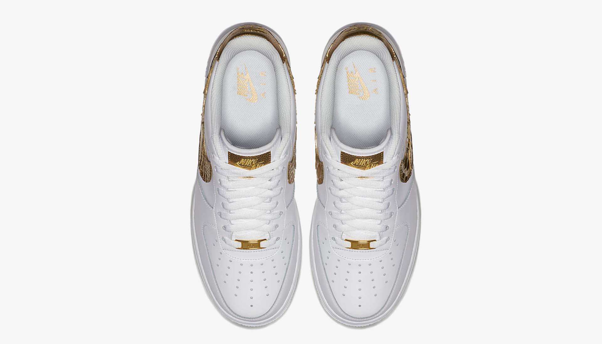 Teórico Seguro inyectar  Nike Air Force 1 CR7 Golden Patchwork Sneakers - SoccerBible