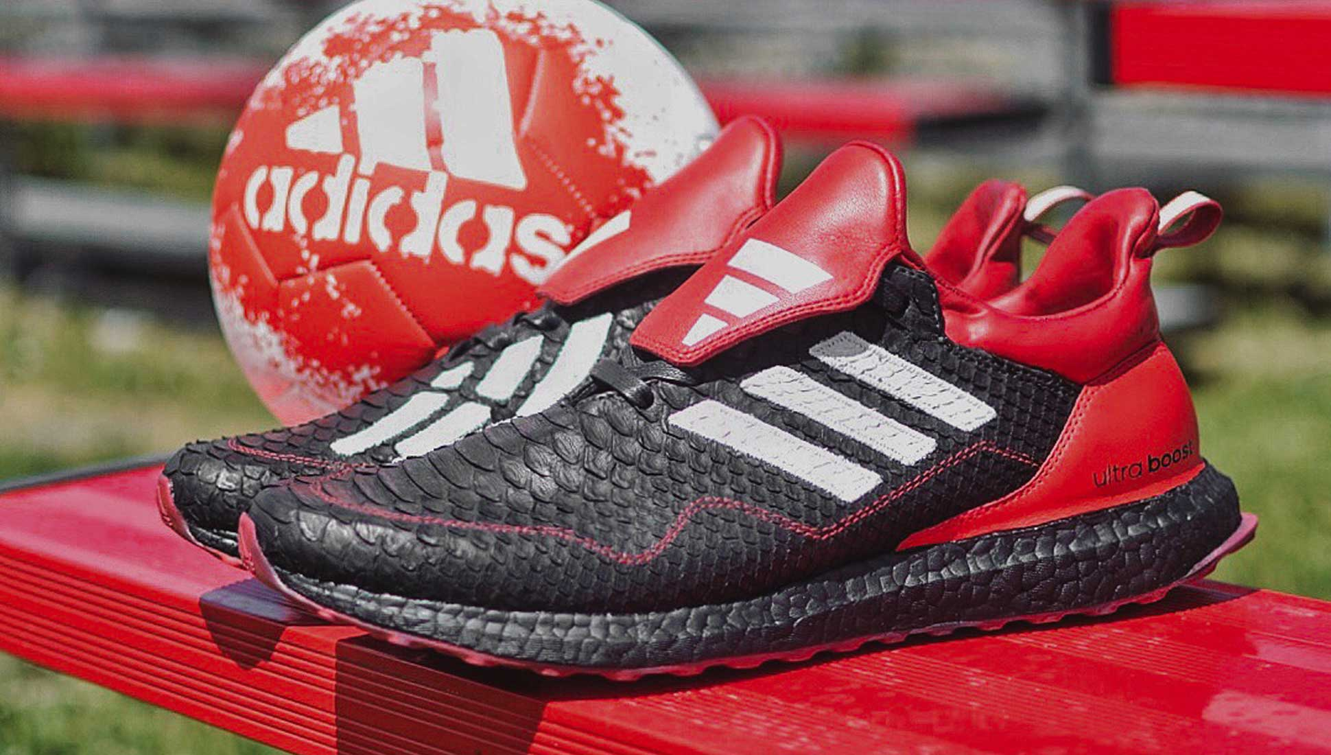 adidas x Jack The Ripper Custom Predator 18+ UltraBoost - SoccerBible. b75c69e504e6