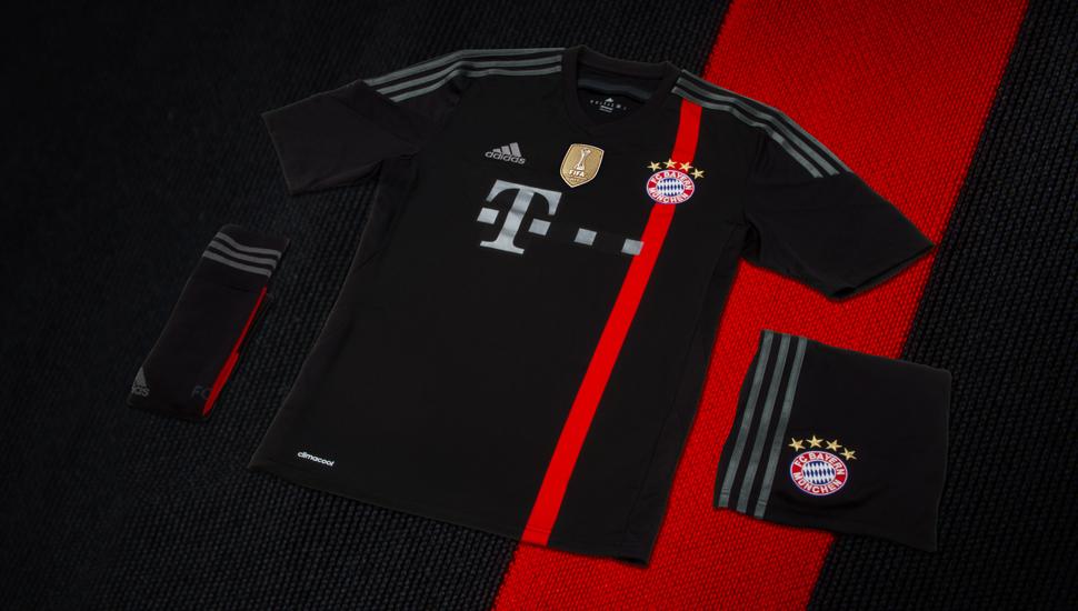 buy online 0f911 e4a1b adidas 2014/15 Bayern Munich Third Kit - SoccerBible