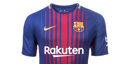 promo code 89bd1 3efb0 Nike Launch Limited Edition Barcelona 20 Year Mash-Up Jersey ...