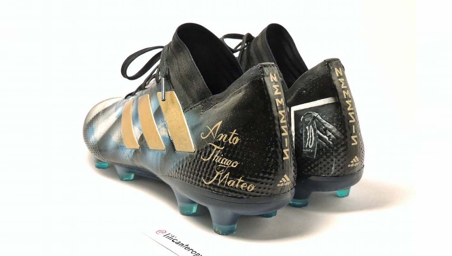 62e66947396f Lili Cantero Designs Custom Nemeziz 17.1 for Leo Messi - SoccerBible