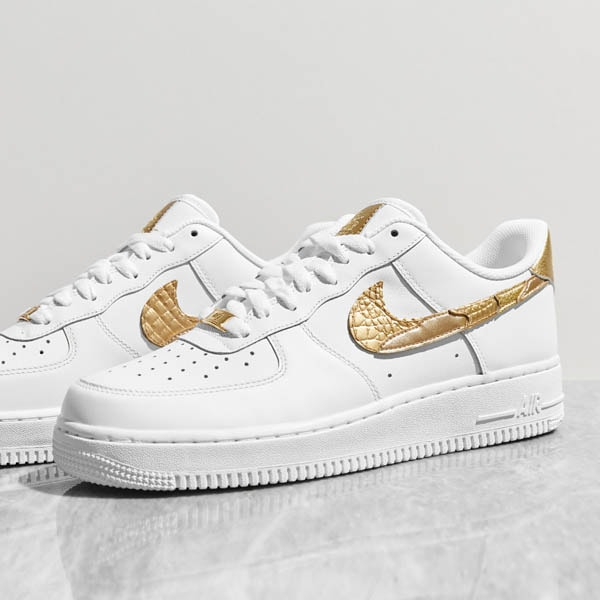 new style 0a816 025a2 ... uk nike launch the air force 1 cr7 golden patchwork dc886 6c974