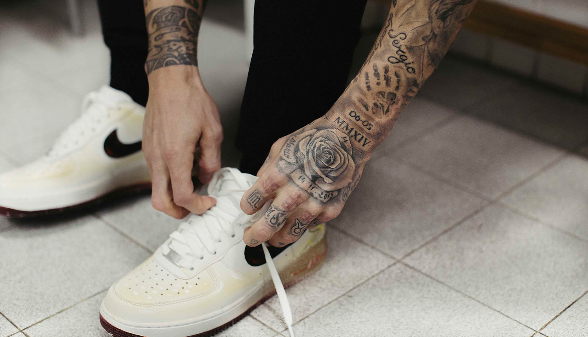 Nike Present Sergio Ramos With Graffitied Air Force 1
