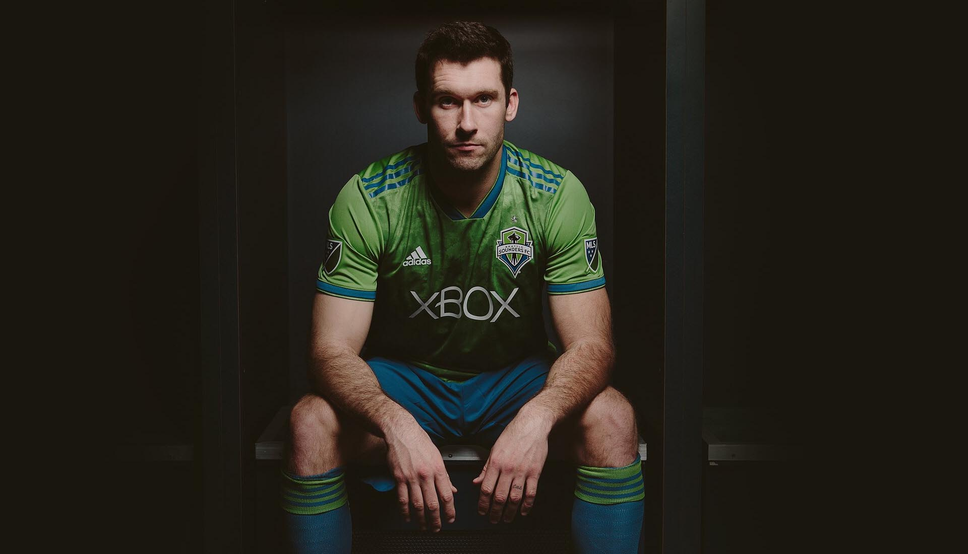 size 40 54b11 6286e Seattle Sounders 2018 adidas Primary Kit - SoccerBible