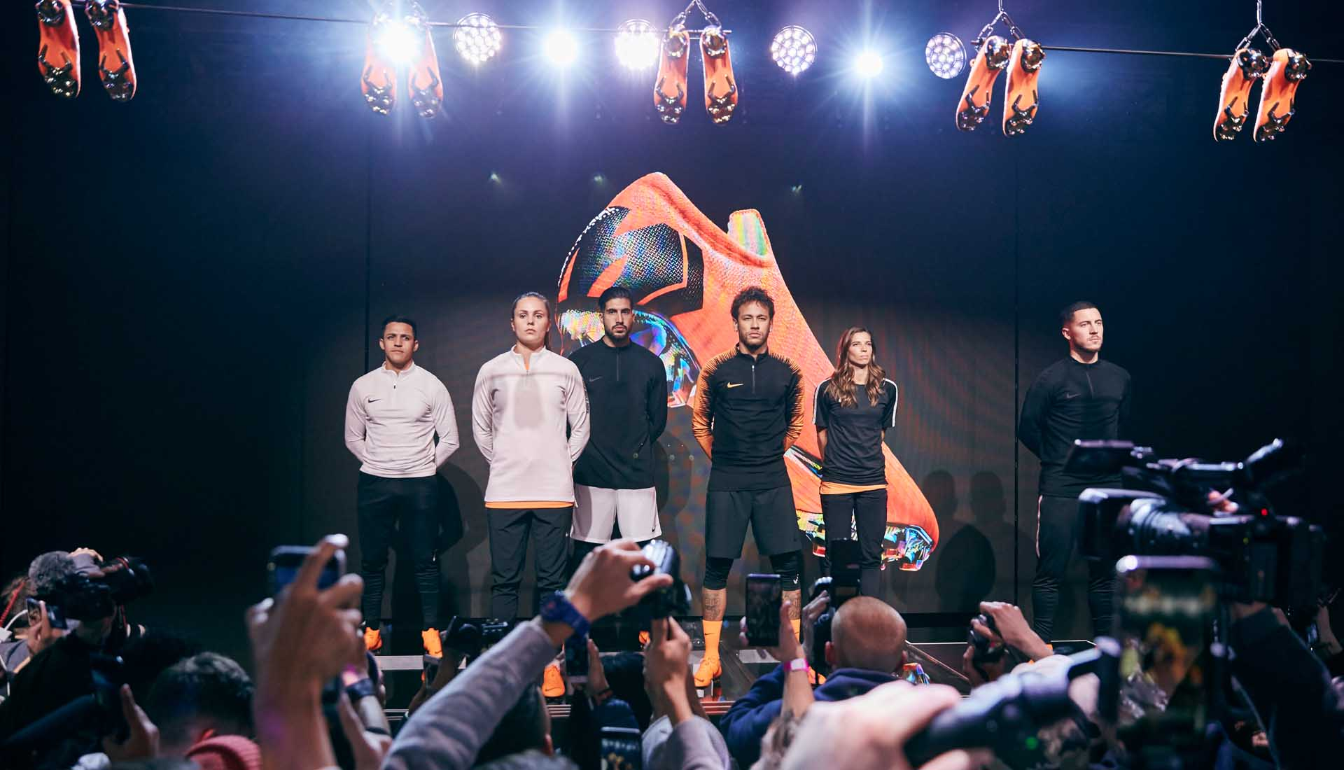 b1e027454bf Nike Launch the Mercurial 360 at 2018 Innovation Summit in London -  SoccerBible.