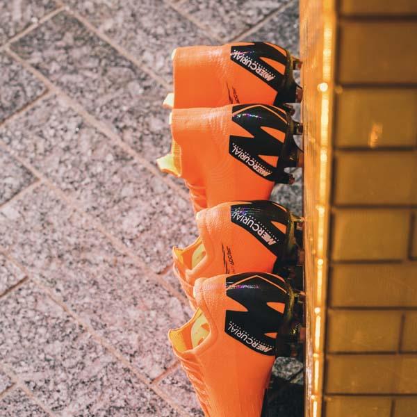 5590fc011636 Kylian Mbappé Launches The Nike x Virgil Abloh Mercurial 360 ...