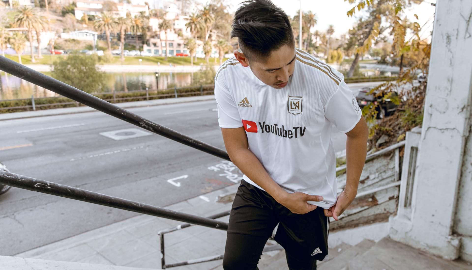 size 40 7cc0a 4e98a LAFC 2018 adidas Home & Away Shirts - SoccerBible
