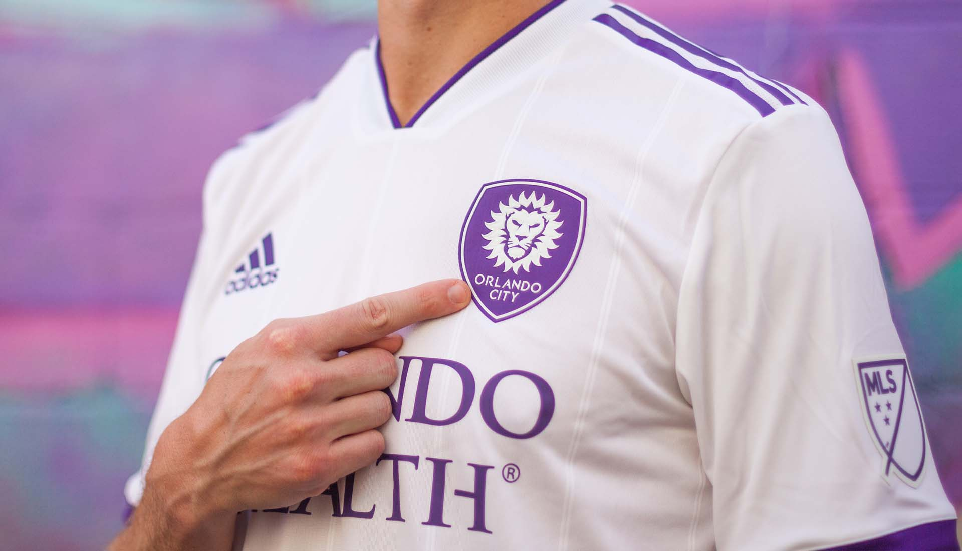 online retailer c9252 3fddd Orlando City 2018 adidas Secondary Jersey - SoccerBible