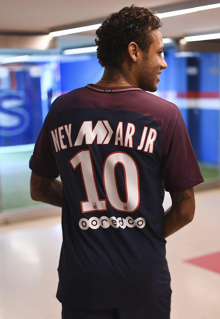 sale retailer 5d054 050af Nike Launch Limited Edition PSG Mercurial Shirts - SoccerBible