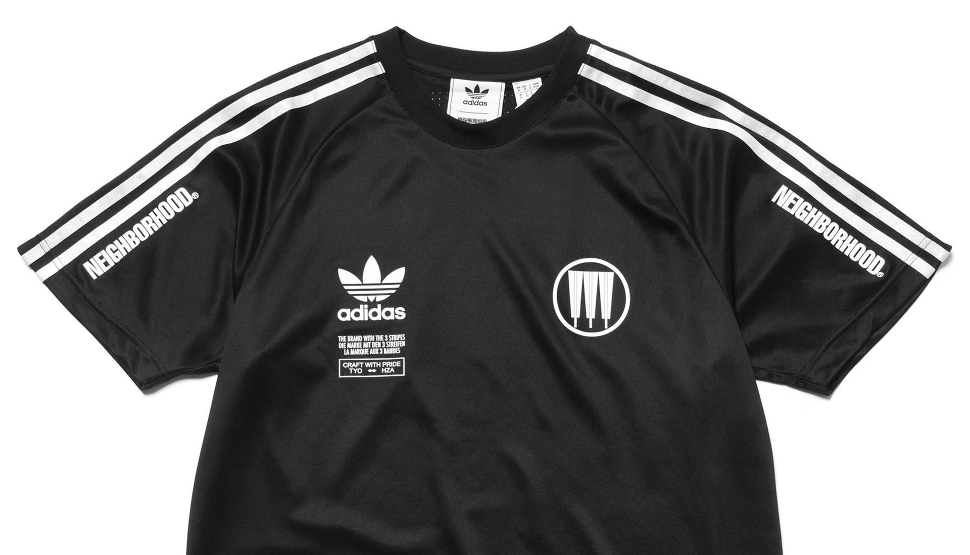 adidas Originals x NEIGHBORHOOD Game Jersey SoccerBible