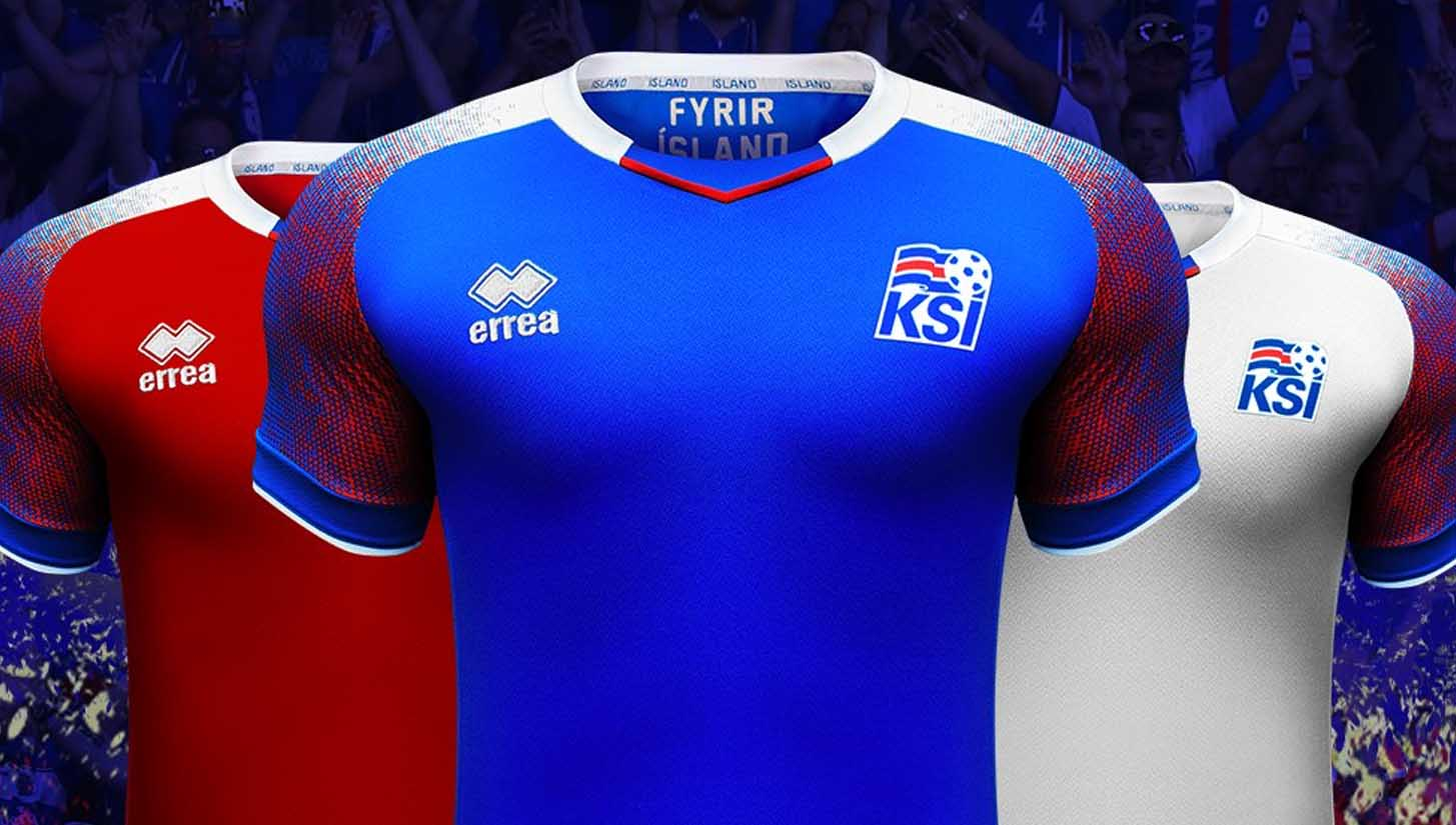 e760350bf Erreà Launch Iceland 2018 Home   Away Shirts - SoccerBible