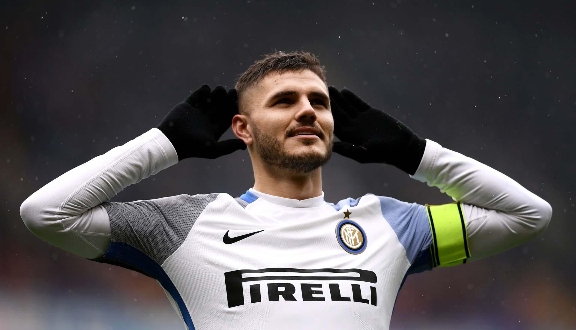 Mauro Icardi Marks 100th Serie A Goal With Bespoke Hypervenom ... 7147b2a28