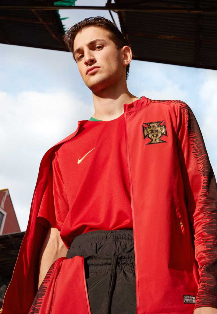 nike launch portugal 2018 home away shirts soccerbible. Black Bedroom Furniture Sets. Home Design Ideas