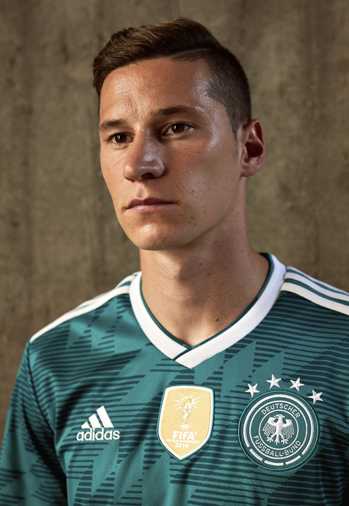 adidas Launch The Germany 2018 World Cup Away Shirt - SoccerBible. b55d872f3