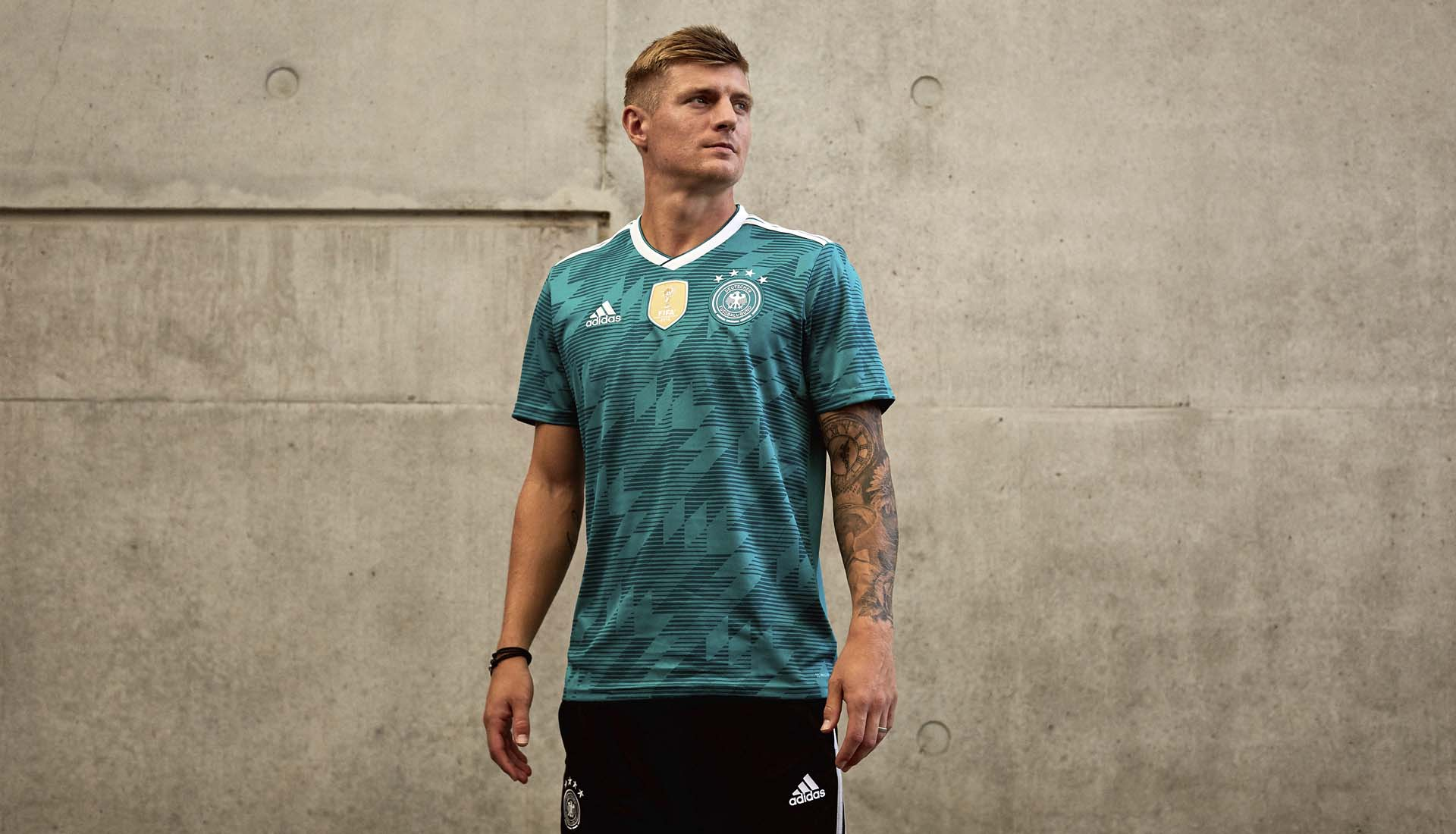 adidas Launch The Germany 2018 World Cup Away Shirt - SoccerBible 235baa1fc