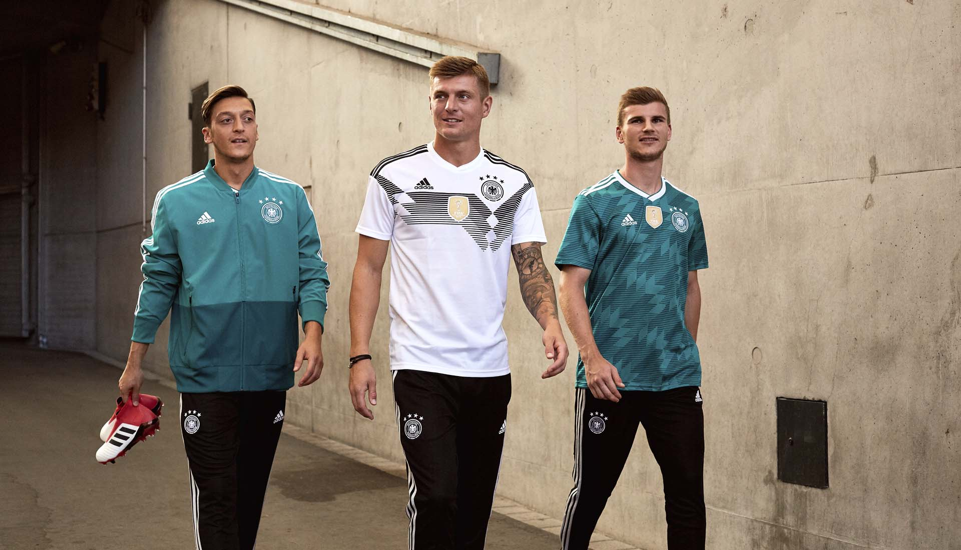d1c5edbb255 adidas Launch The Germany 2018 World Cup Away Shirt - SoccerBible