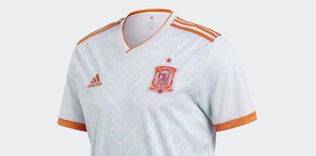 8d382b5a5ed adidas Launch The Spain 2018 World Cup Away Shirt - SoccerBible