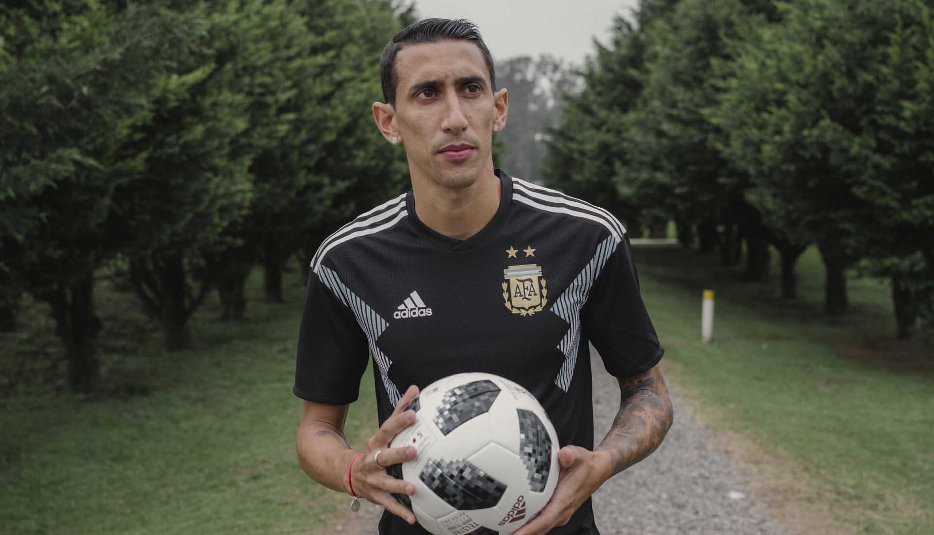 a87b94b034d19 adidas Launch The Argentina 2018 World Cup Away Shirt - SoccerBible