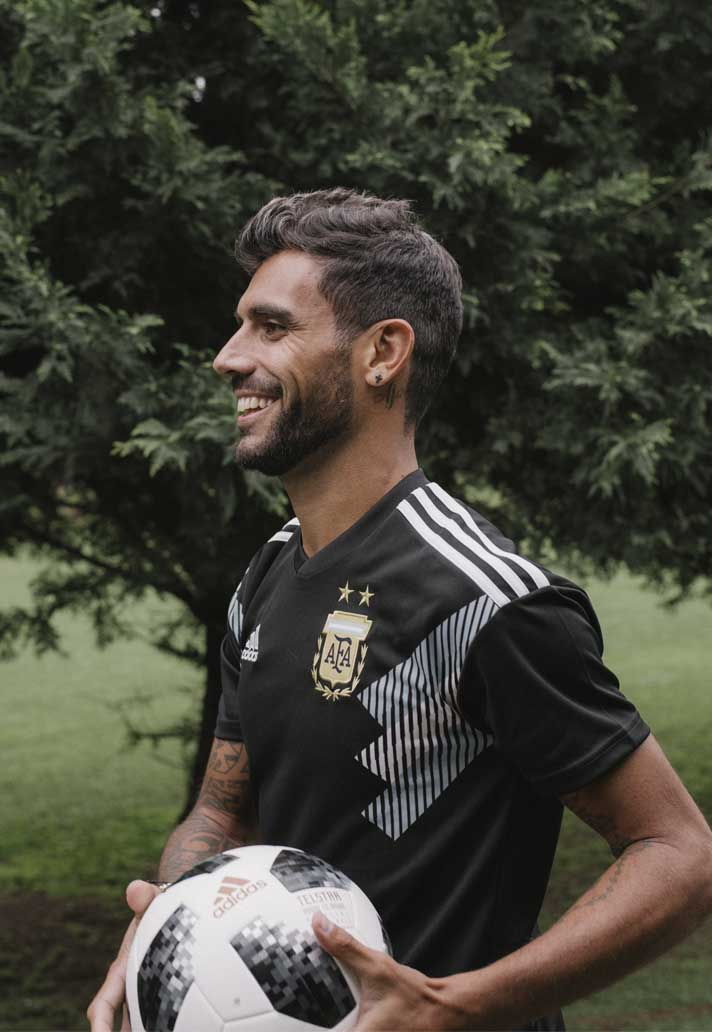 adidas Launch The Argentina 2018 World Cup Away Shirt - SoccerBible. 4abe5bd4c