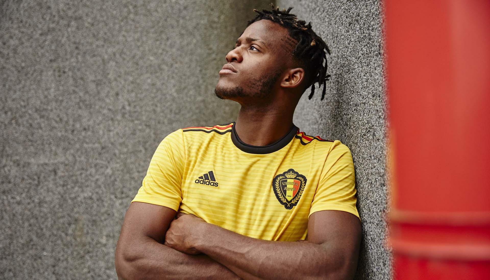 ce737647742 adidas Launch The Belgium 2018 World Cup Away Shirt - SoccerBible