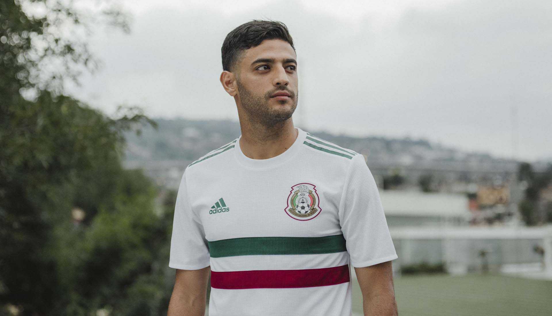 7012cdb90 adidas Launch Mexico 2018 World Cup Away Shirt - SoccerBible