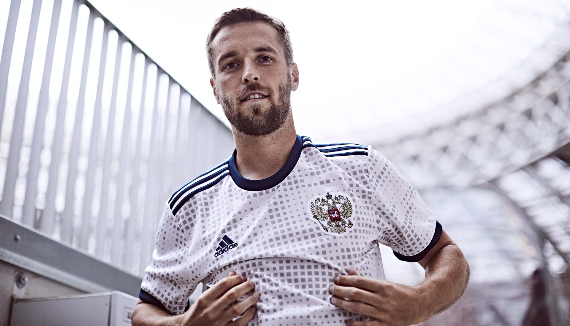 69f2f289877 adidas Launch The Russia 2018 World Cup Away Shirt - SoccerBible