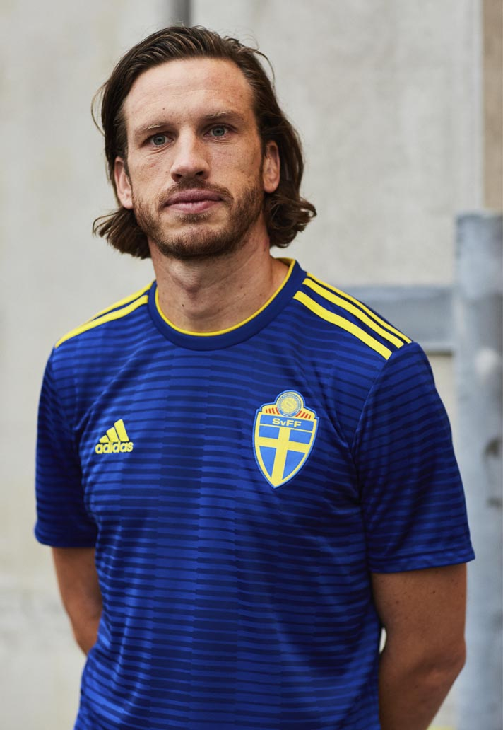 adidas Launch The Sweden 2018 World Cup Away Shirt - SoccerBible