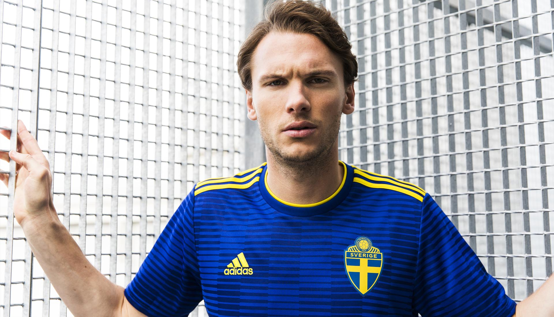 5fead50090b adidas Launch The Sweden 2018 World Cup Away Shirt - SoccerBible