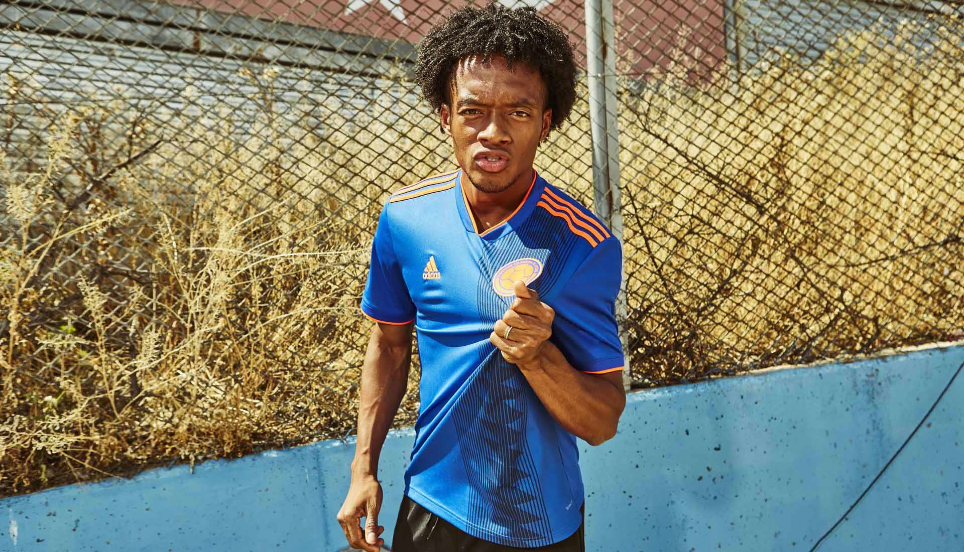 adidas Launch The Colombia 2018 World Cup Away Shirt - SoccerBible 0b58c3129