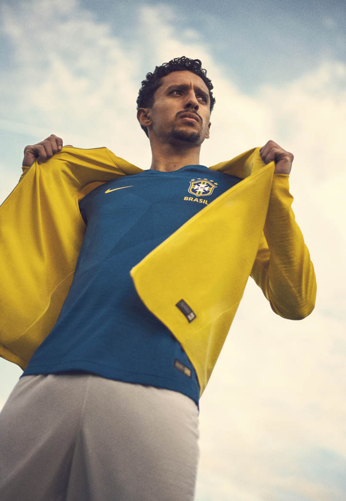 db36ae928 Nike Launch Brazil 2018 World Cup Home   Away Shirts - SoccerBible