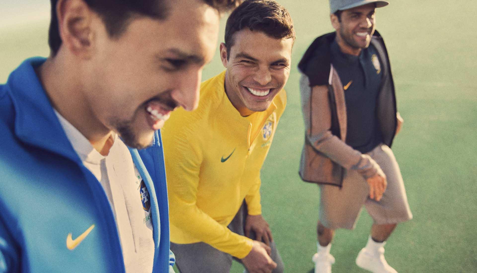96bec94fb11 Nike Launch Brazil 2018 World Cup Home   Away Shirts - SoccerBible