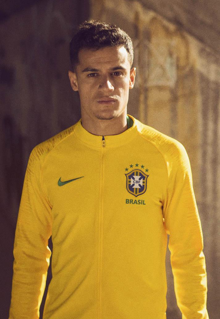 9b72eca62 Nike Launch Brazil 2018 World Cup Home   Away Shirts - SoccerBible