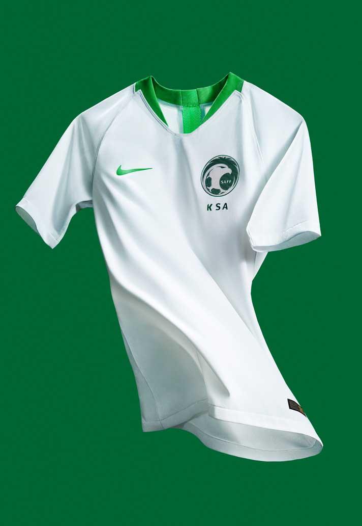 0a14719a8 Nike Launch Saudi Arabia 2018 World Cup Kits - SoccerBible.