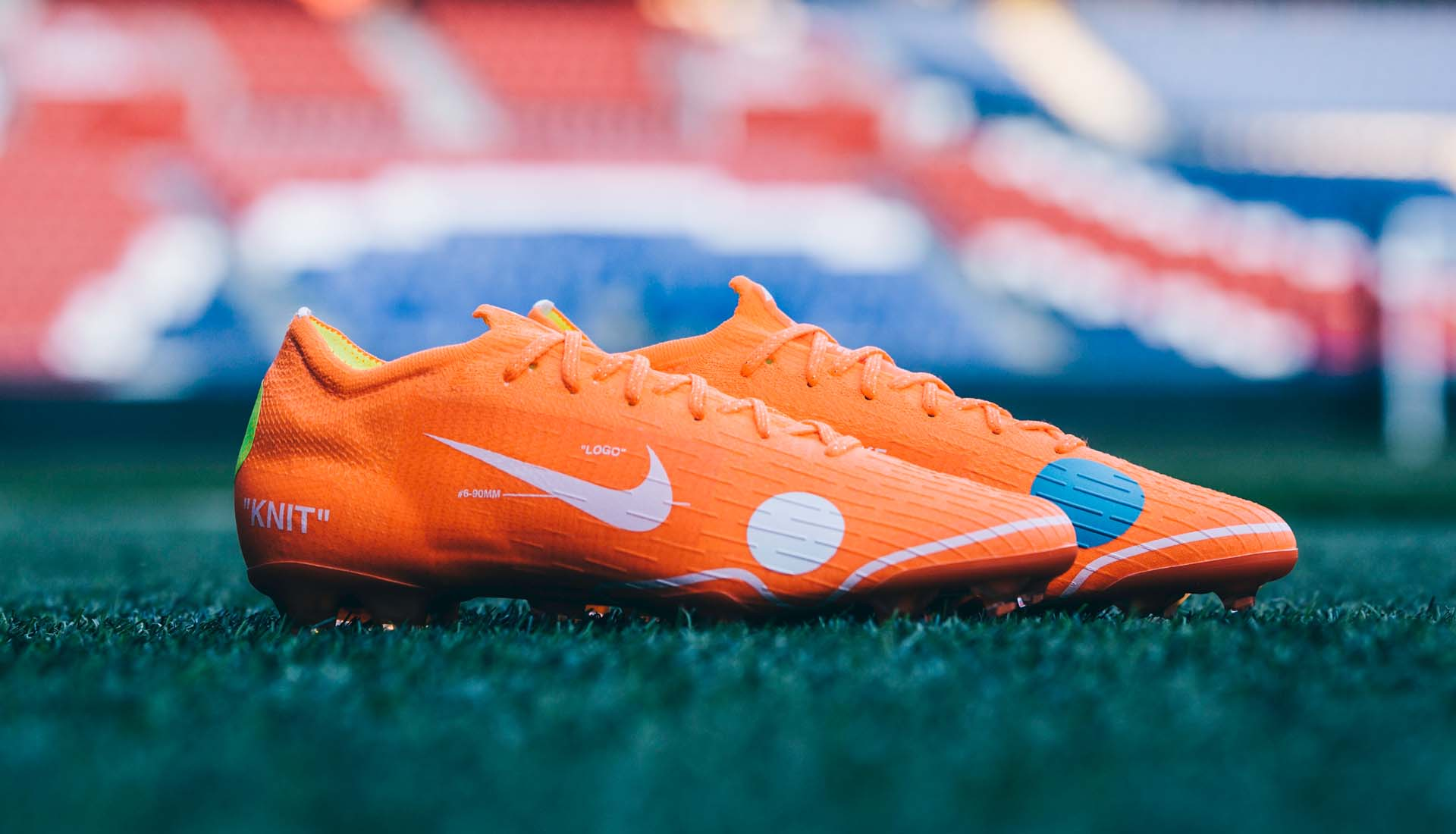 brand new 9ca41 362a5 Kylian Mbappé Launches The Nike x Virgil Abloh Mercurial 360 ...