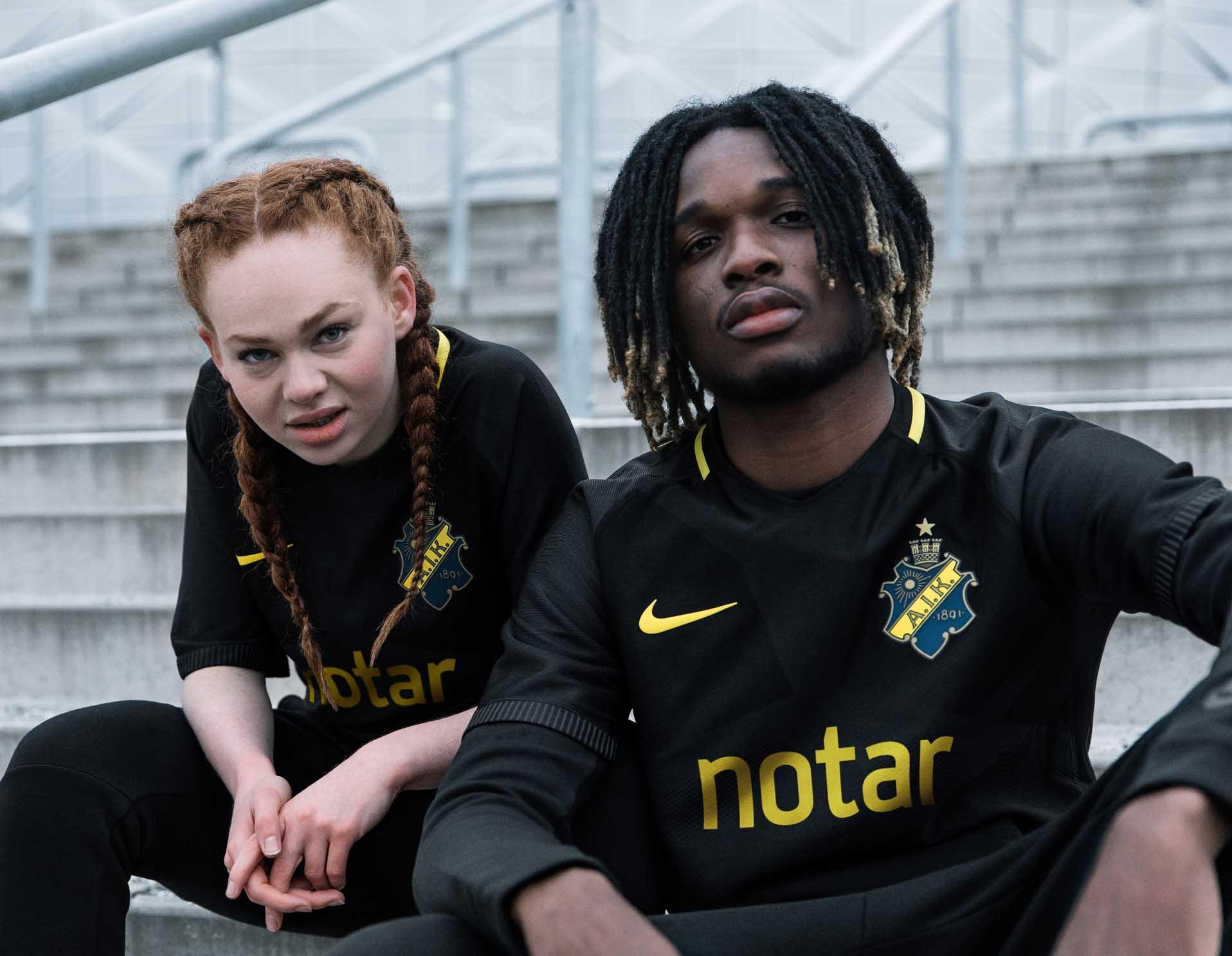 AIK SOLNA STOCKHOLM Schweden adidas Trikot Jersey Kids