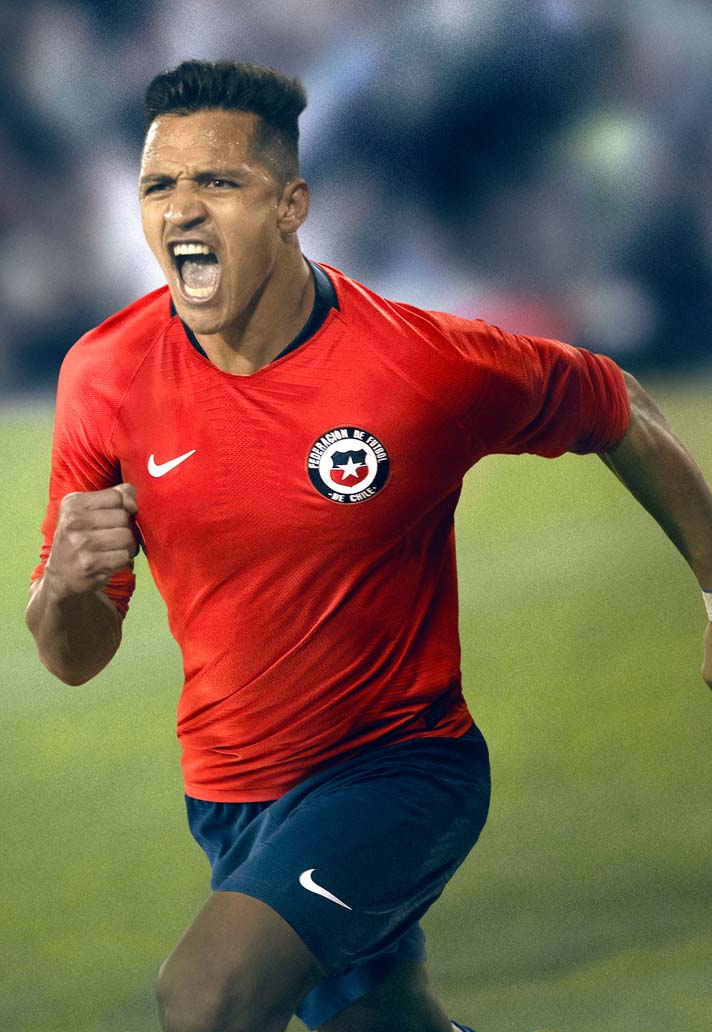 c705f83e6 Nike Launch Chile 2018 Home & Away Kits - SoccerBible
