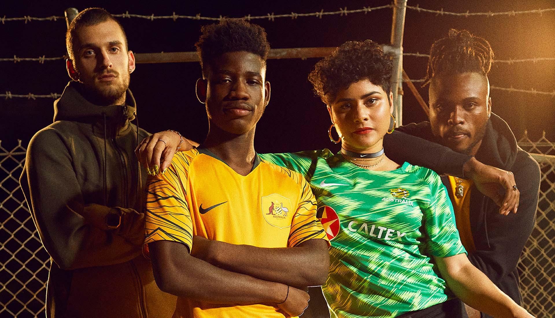 04078dd1c8b Nike Launch Australia 2018 World Cup Kits - SoccerBible