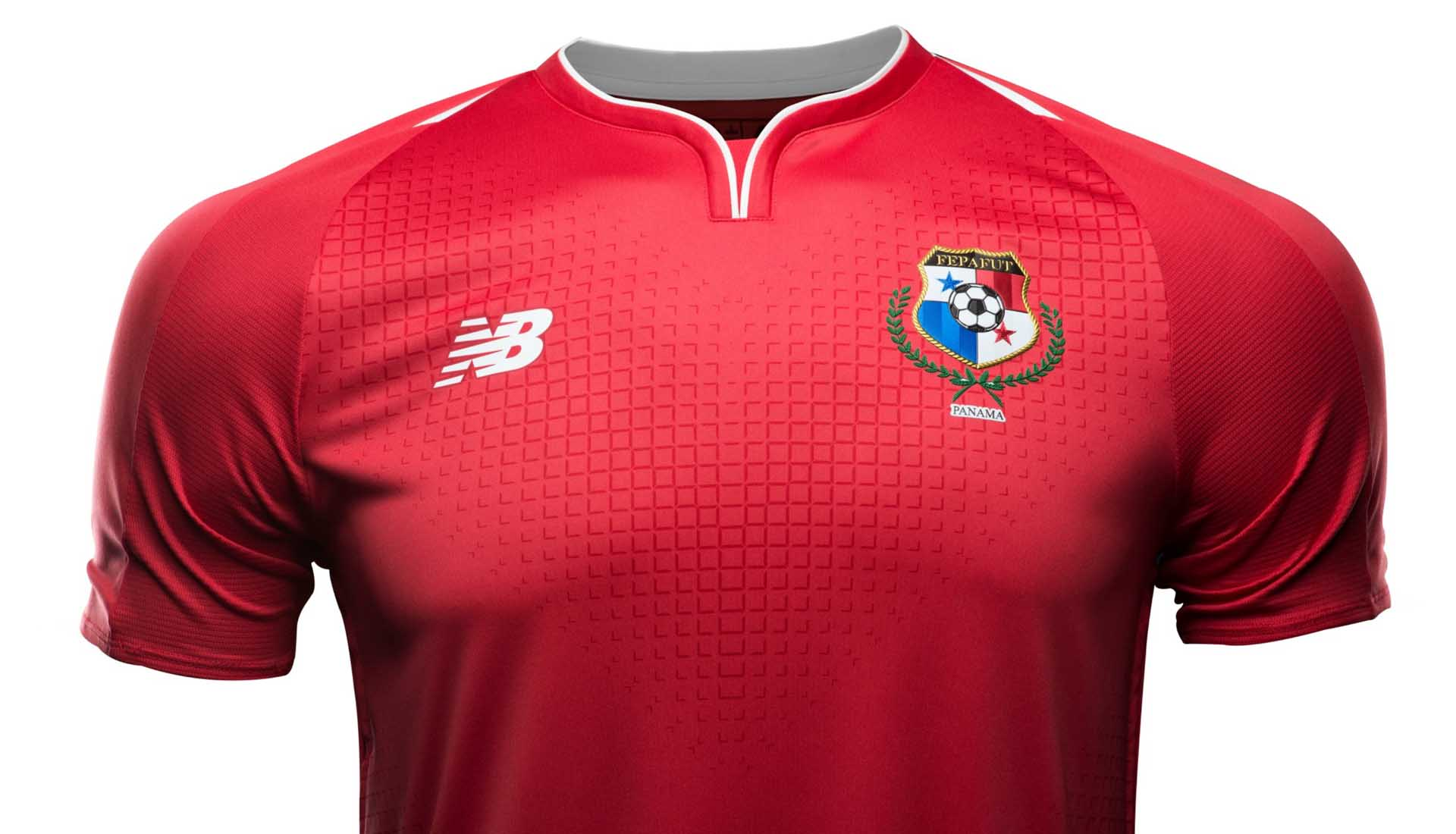 newest ded1c 3ecec New Balance Launch Panama 2018 World Cup Home Shirt ...