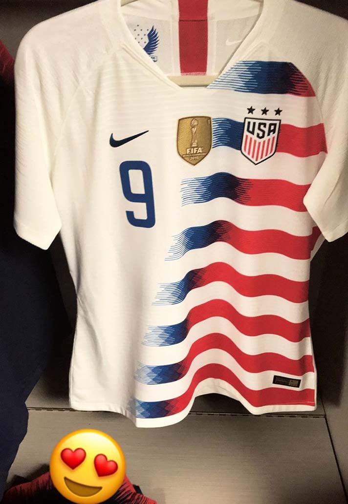 new concept 4046d d68c3 USWNT Debut 2018 Nike Home Kit - SoccerBible