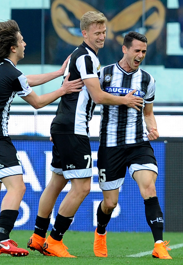 Udinese Wear 10 Different Kits Against Lazio - SoccerBible