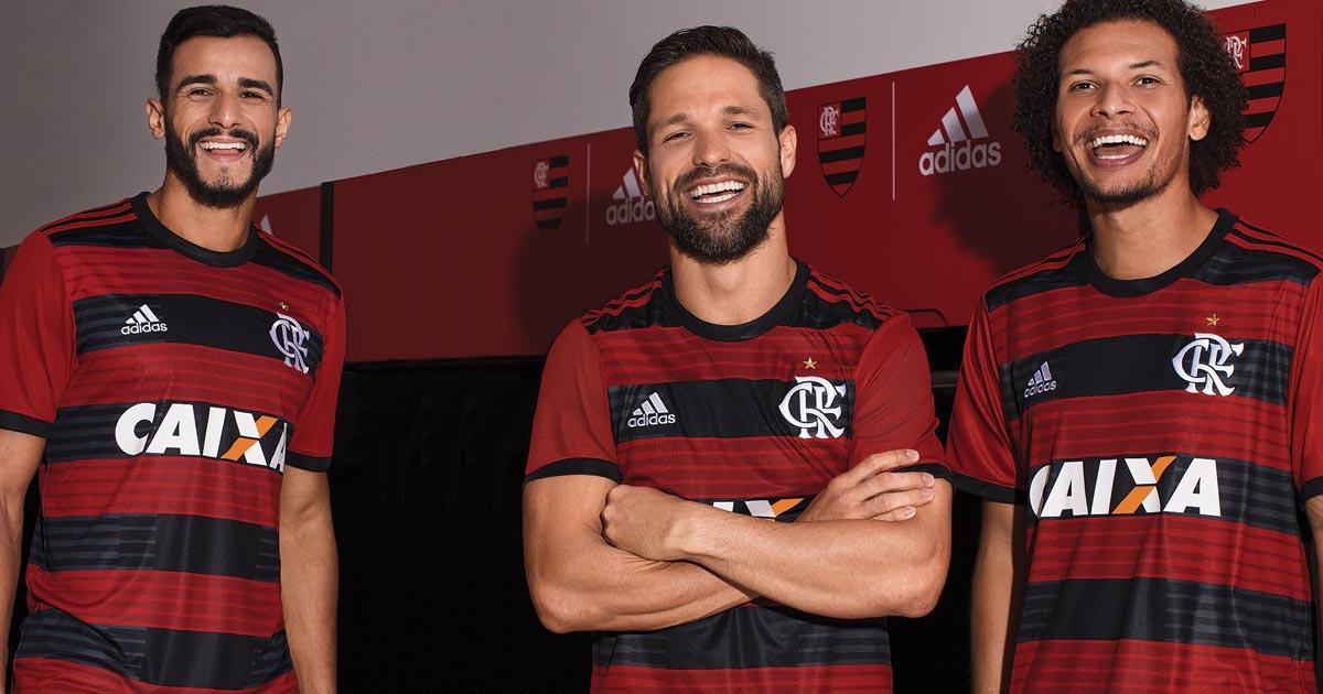 15fe81381 adidas Launch Flamengo 18 19 Home Shirt - SoccerBible.