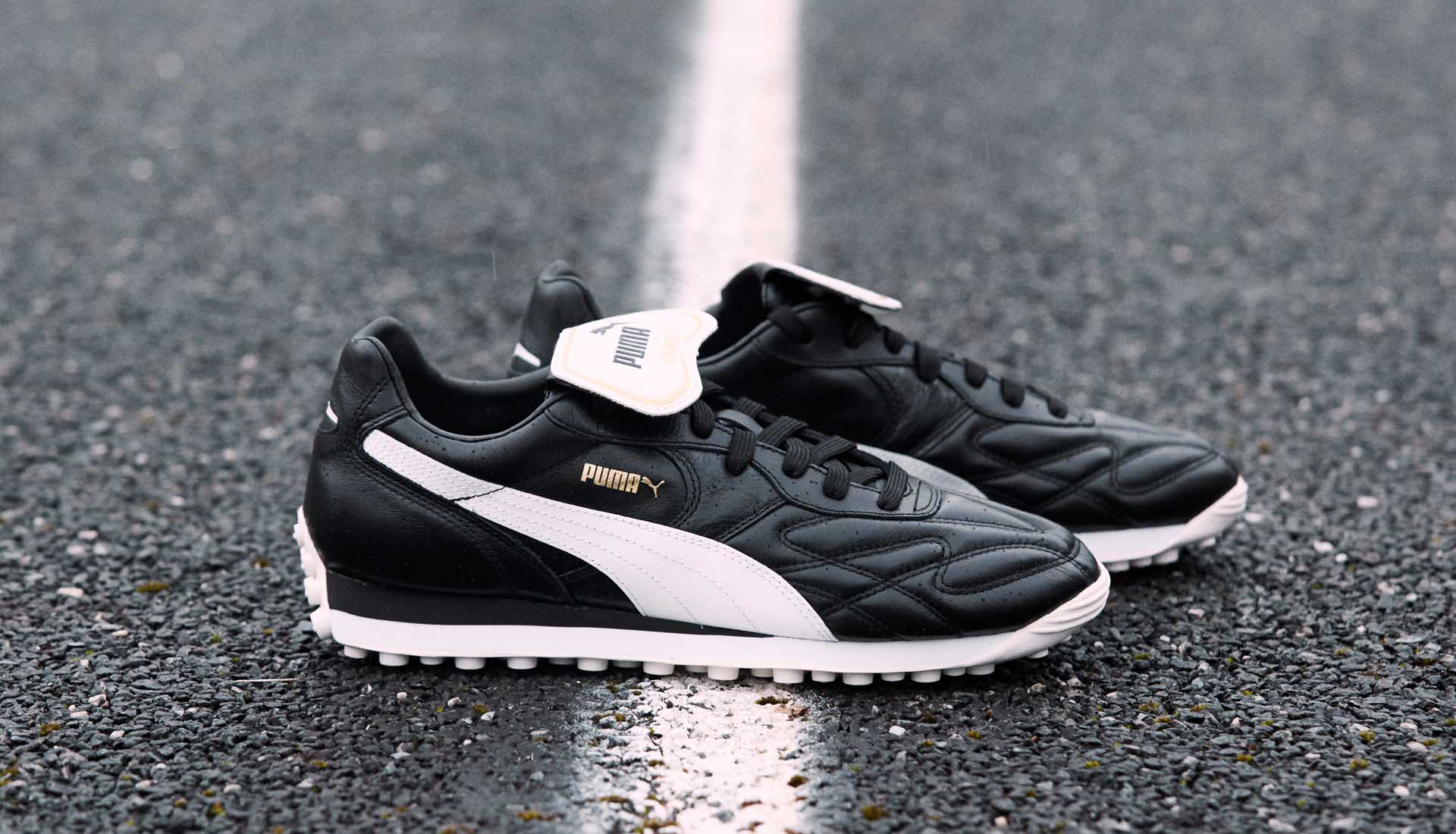 PUMA Launch The King Avanti Premium Sneakers - SoccerBible