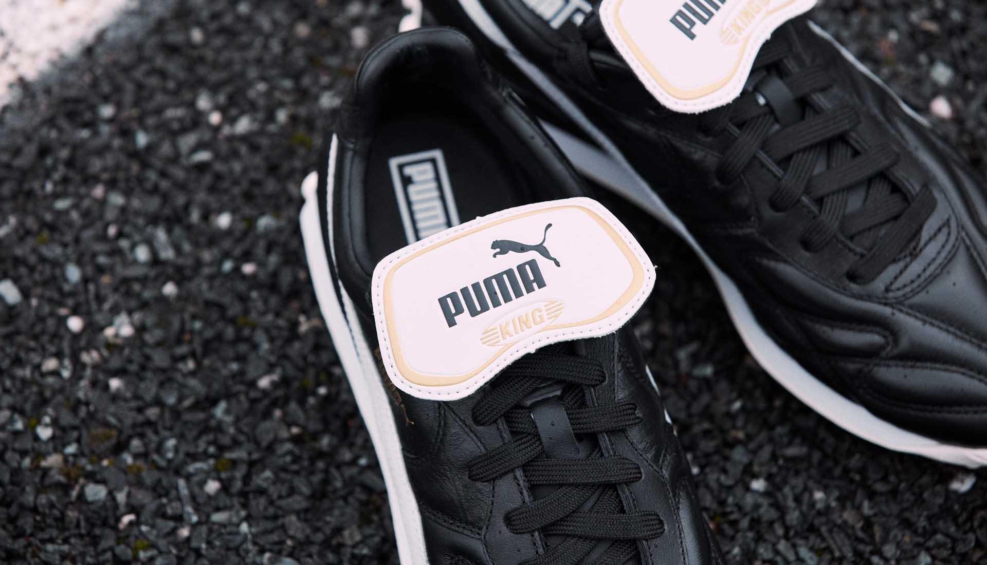 ataque Feudo referencia  PUMA Launch The King Avanti Premium Sneakers - SoccerBible