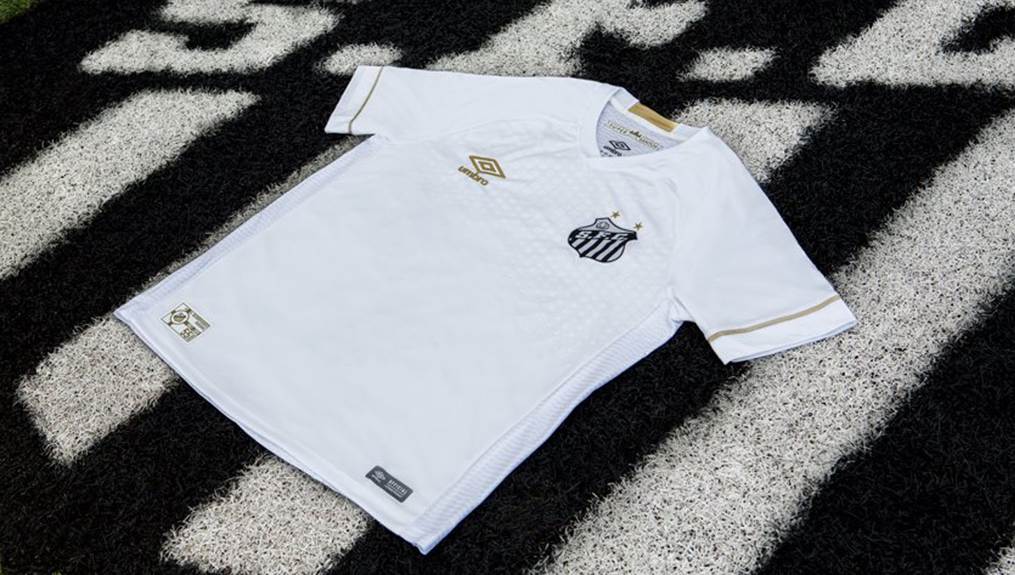 Umbro Launch Santos 18 19 Home   Away Shirts - SoccerBible 871021922