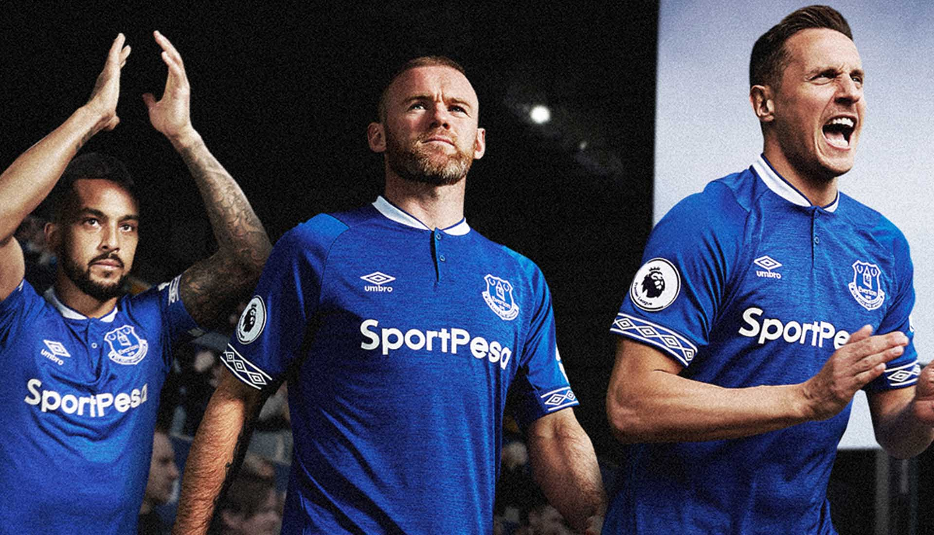 Umbro Launch 18 19 Everton Home Kit - SoccerBible. 8c3b0fe04