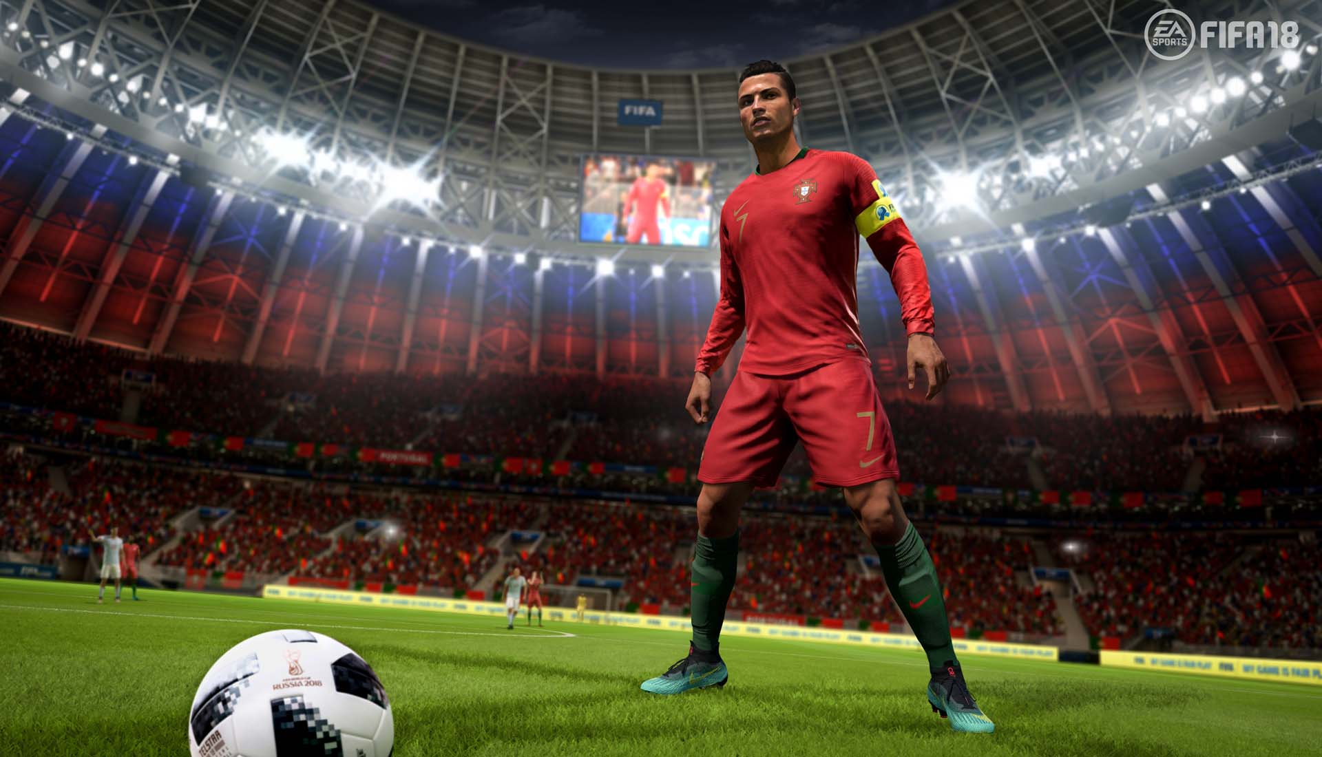 Cr7 Stars In Fifa 18 World Cup Mode Trailer Soccerbible