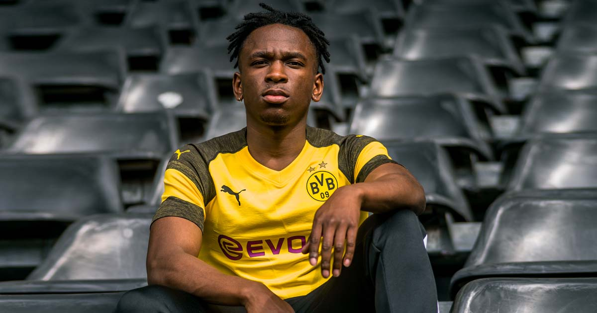 29f7382f7fd PUMA Launch Borussia Dortmund 18 19 Home Shirt - SoccerBible.
